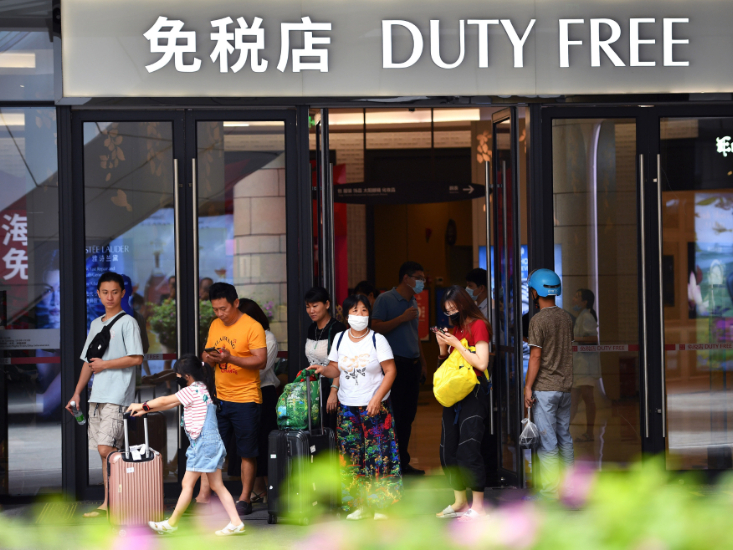 Hainan logs duty-free shopping surge since policy upgrading