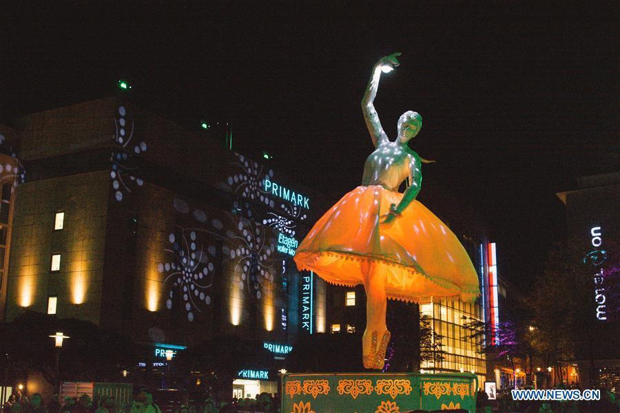 Essen light festival kicks off in Germany
