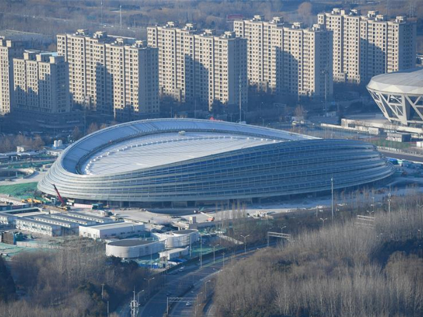 Construction of Beijing 2022 venues continues during China's holiday