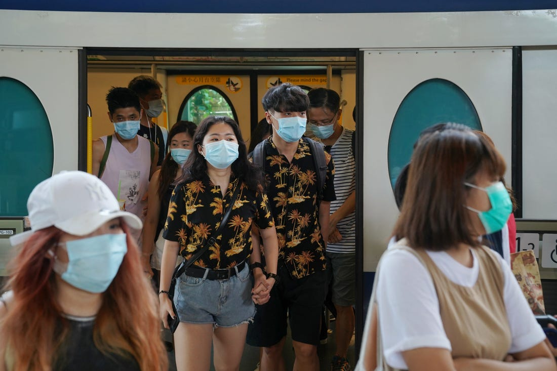 Hong Kong reports five new COVID-19 cases, 5,113 in total