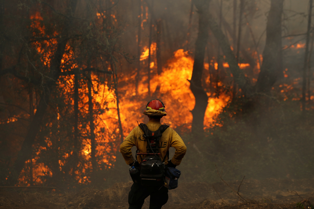Wildfires surge in US California with better containment