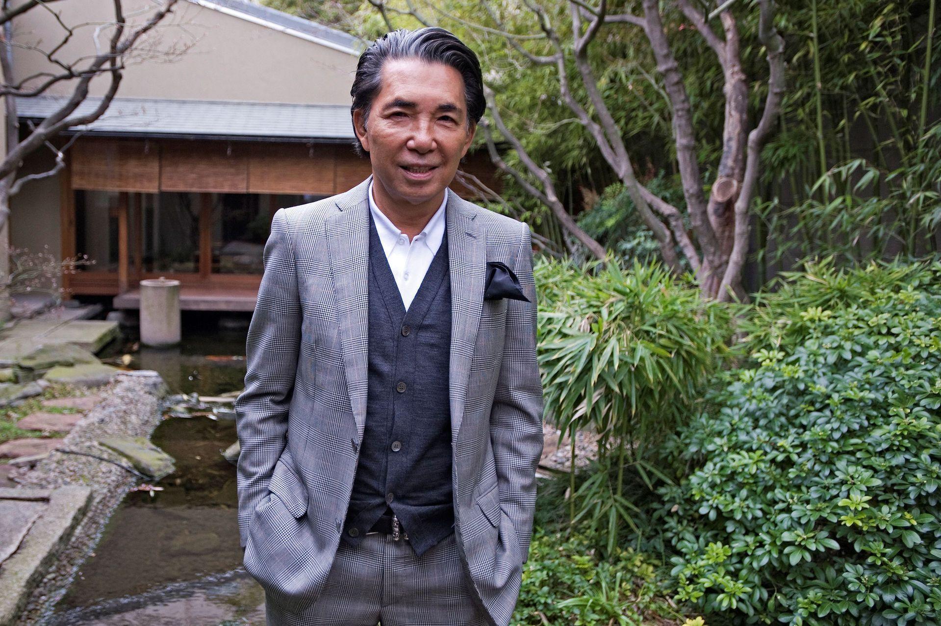Japanese fashion designer Kenzo Takada dies from COVID-19
