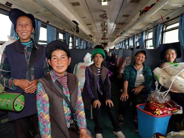Railway brings hope of shaking off poverty to residents in mountainous areas