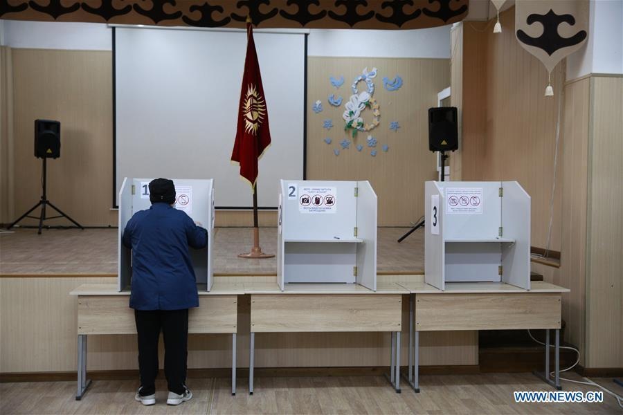 Parliamentary elections end in Kyrgyzstan
