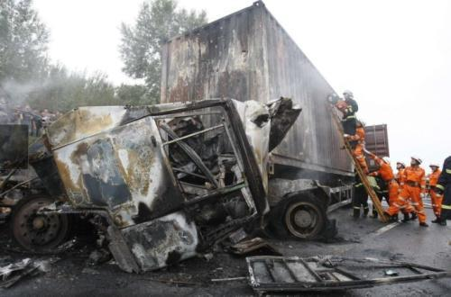 Chinese province starts road safety inspection after deadly accident