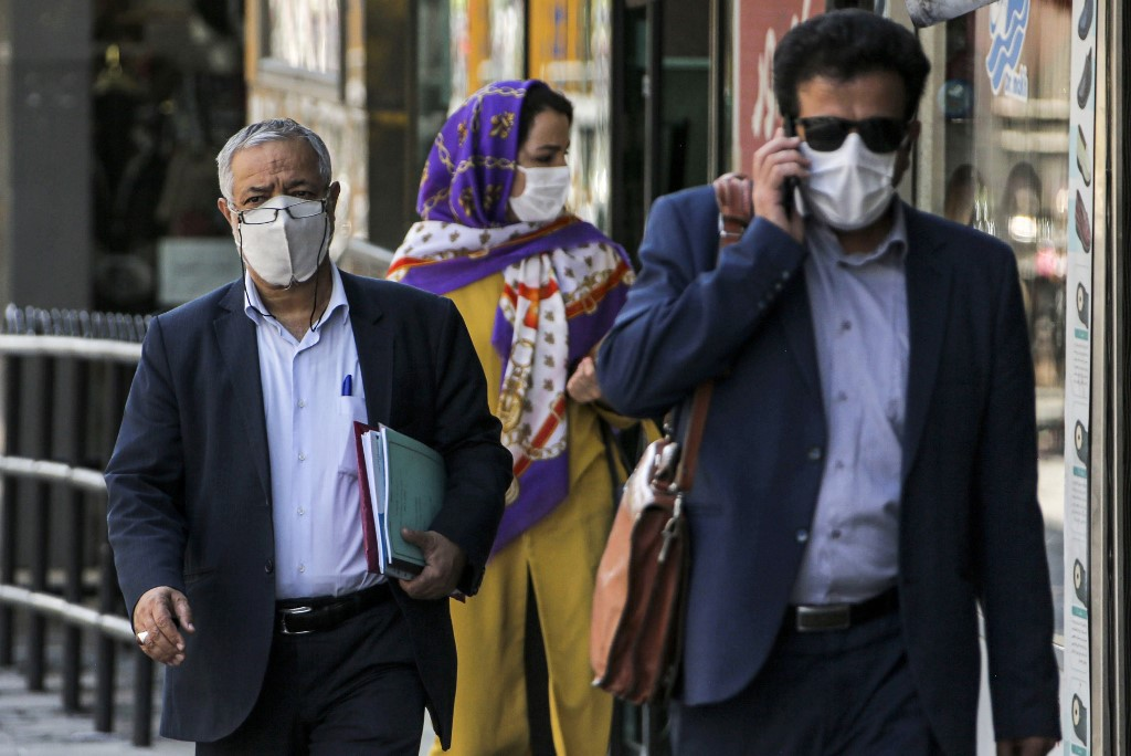 Iran hits record high 235 virus deaths
