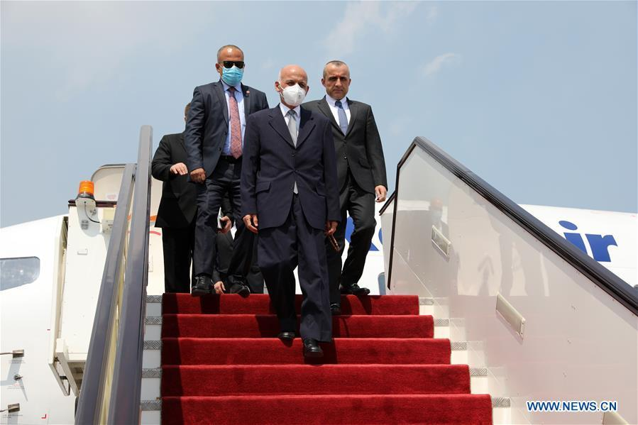 Afghan president leaves for Kuwait, Qatar for official visit