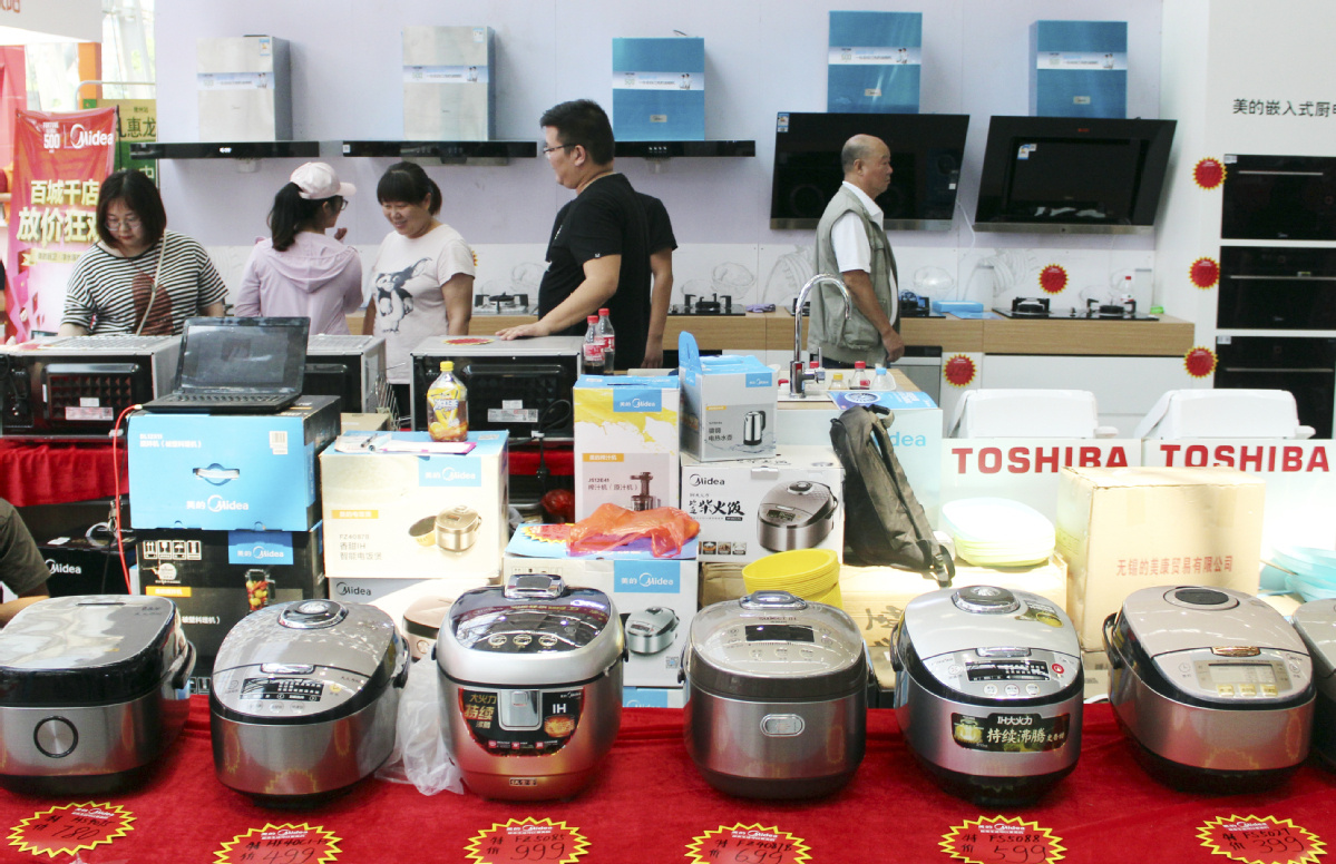 Small home appliances see big growth in sales