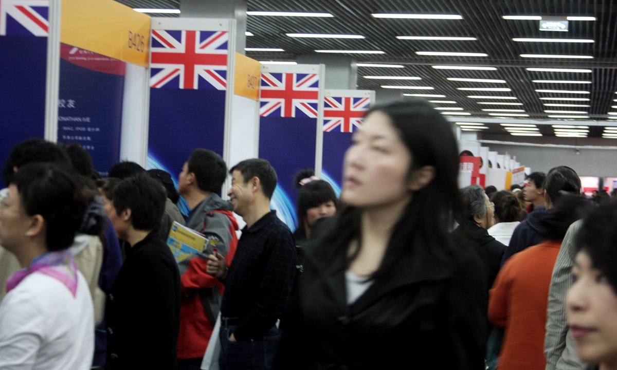 UK unlikely to follow US' path in restricting Chinese students: experts