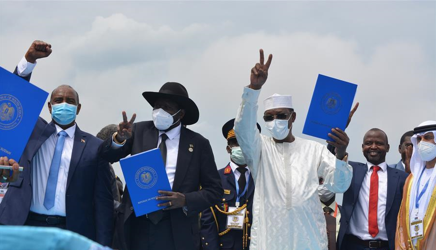 China welcomes peace deal in Sudan