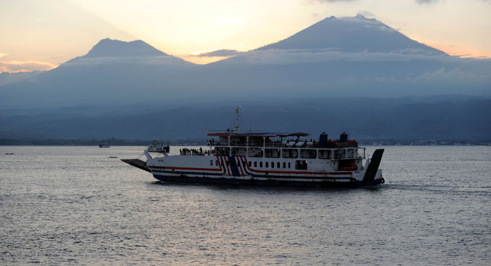 Ship with 12 people on board loses contact in Indonesia's Bali