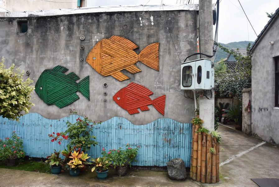 Art lighting up rural China