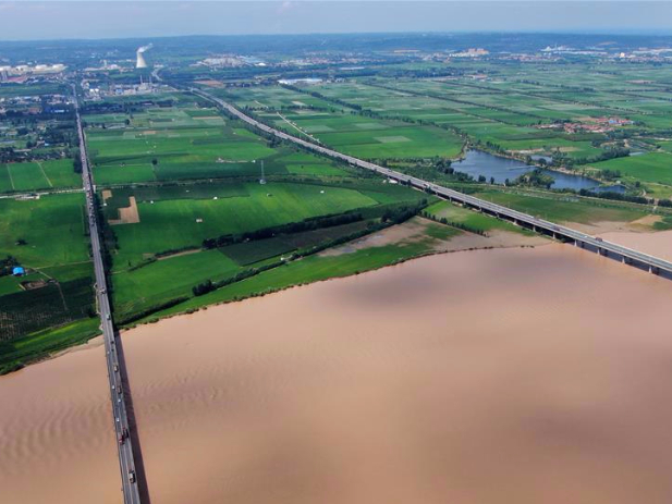 Yellow River bridges in central China's Henan