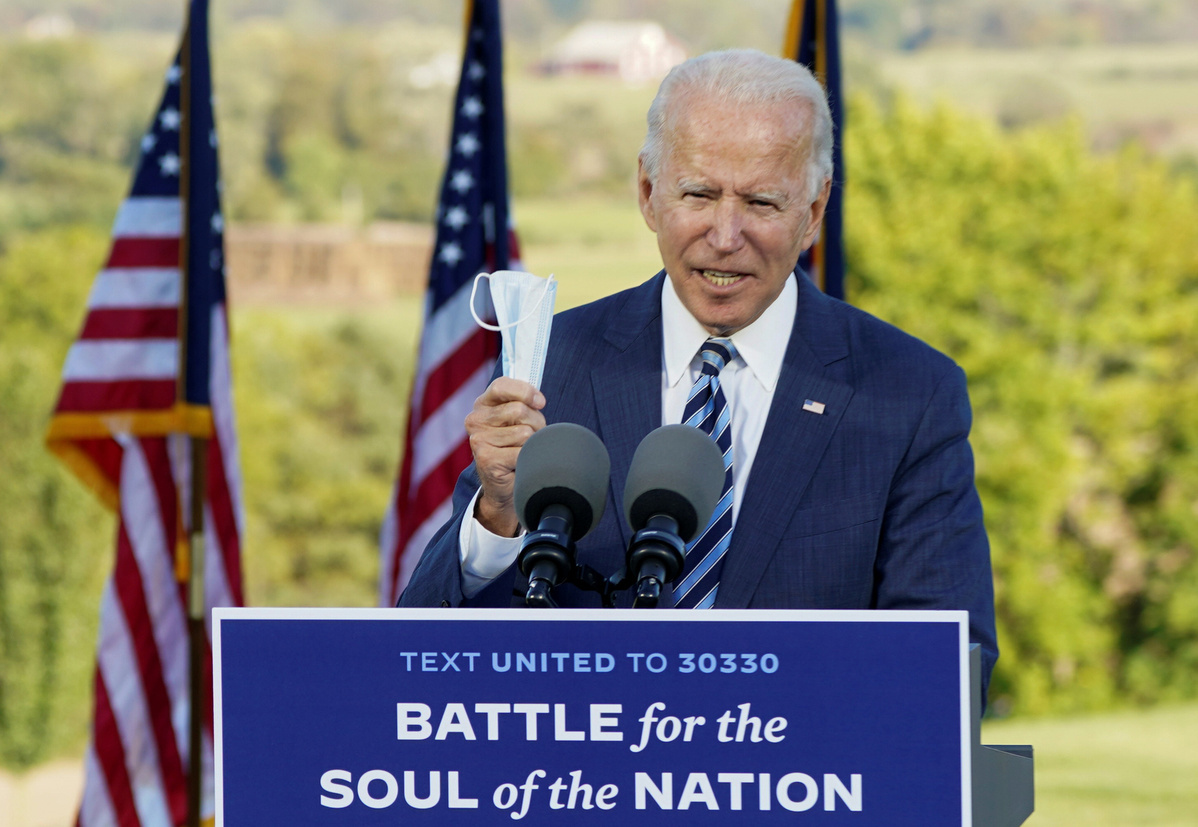 Biden says next debate should not be held if Trump still has COVID-19