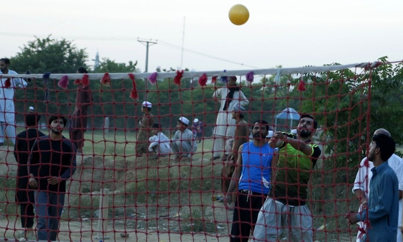 Time to chill for some volleyball fun in Pakistan