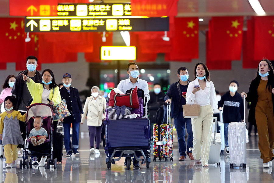 China prepares for trip spike
