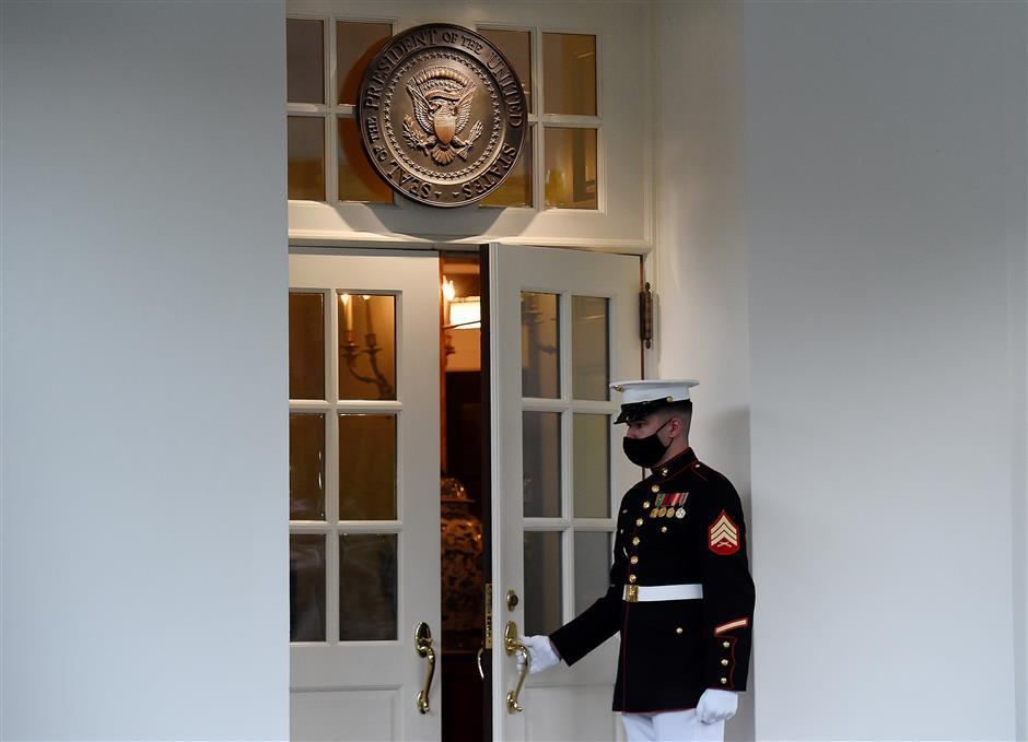 Trump returns to Oval Office, while recuperating from COVID-19