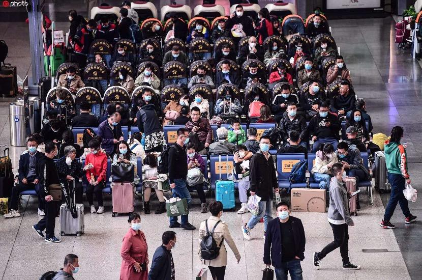 Return trips spike as Golden Week ends