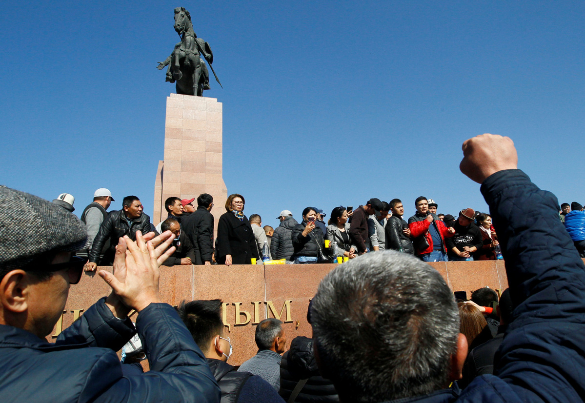 Stability urged following Kyrgyzstan election chaos