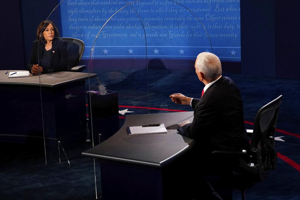 Pence, Harris spar over COVID-19 in vice presidential debate