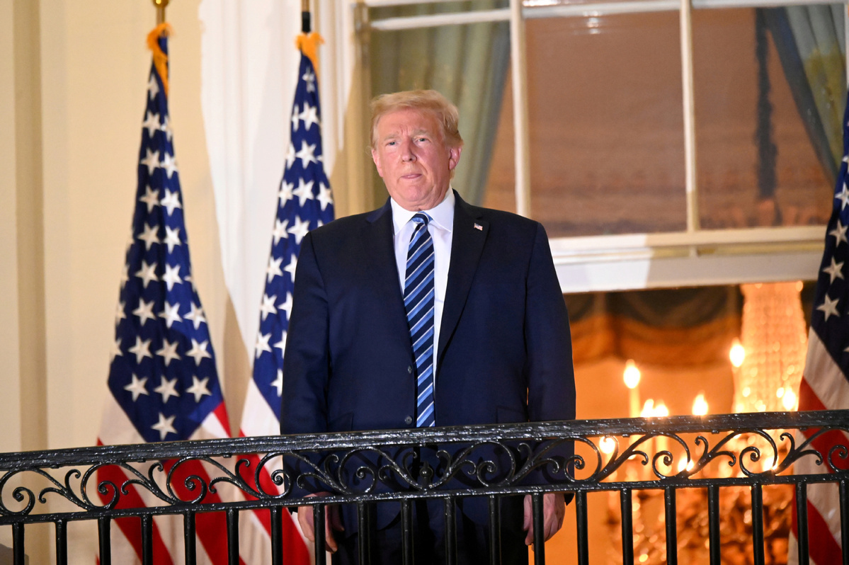Doctor: Trump safe for public return on Saturday