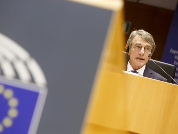European Parliament president self-isolating after contact with COVID-19 case