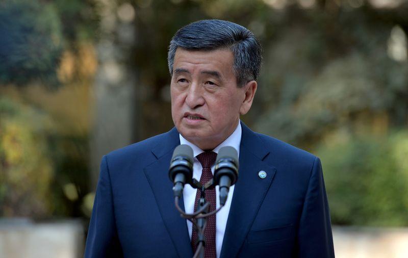 Kyrgyz president 'ready to resign'