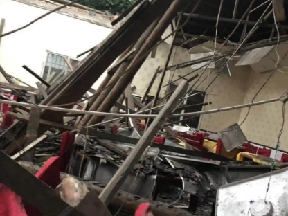 26 hurt in Sichuan roof collapse; safety checks vowed