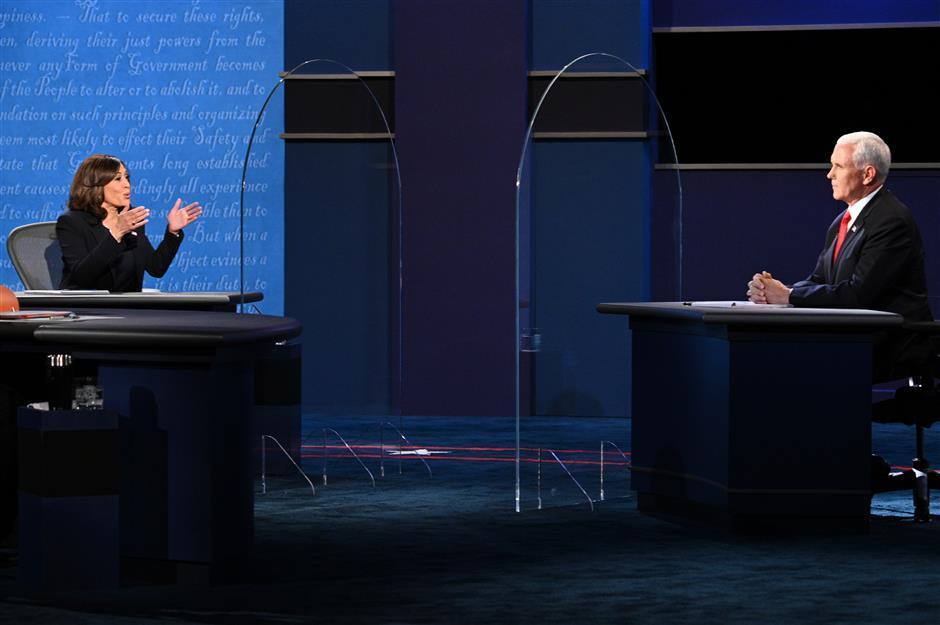 US VP debate turns into clash of bitter barbs