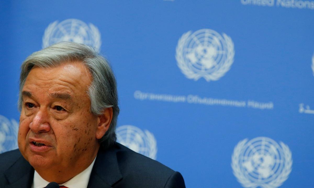 COVID-19 makes universal health coverage more urgent than ever: UN chief