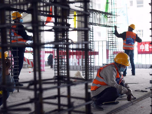 China Construction First Group holds competition on occupational skills