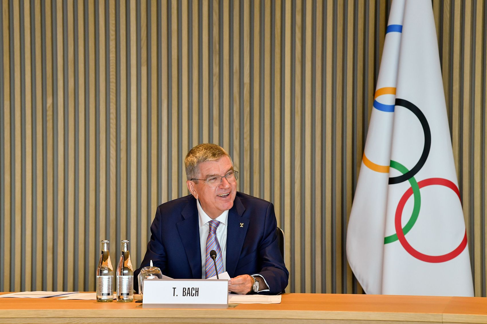 IOC president Bach to visit Japan in mid-November