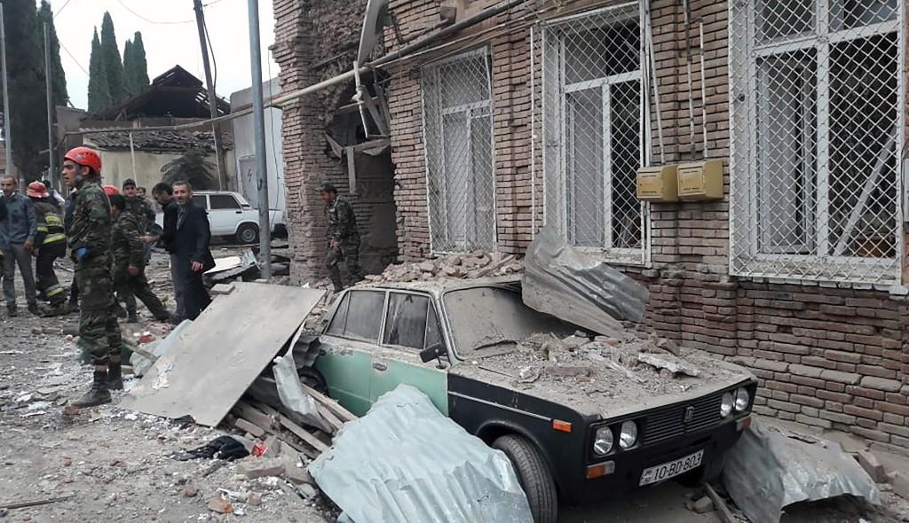 Armenian shelling on city overnight leaves seven dead: Azerbaijan