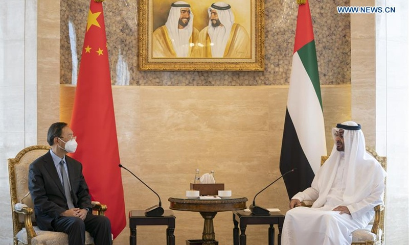 China, UAE to jointly seek new progress in strengthening comprehensive strategic partnership: senior Chinese diplomat