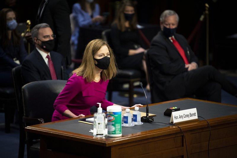Barrett's Supreme Court hearing opens as GOP seeks speedy OK