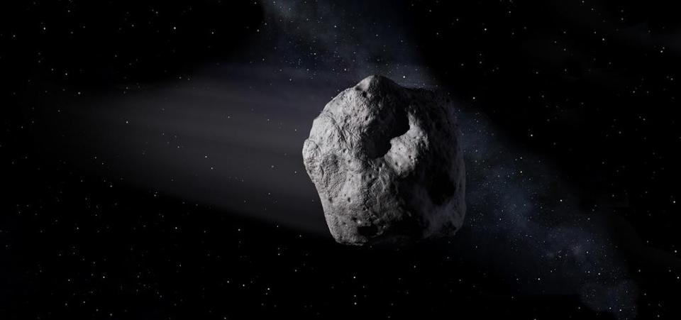 New 'asteroid' may instead be an old moon rocket