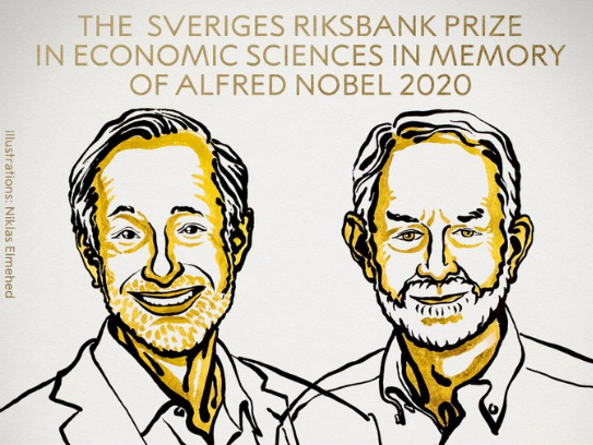 Paul Milgrom, Robert Wilson win Nobel Economics Prize