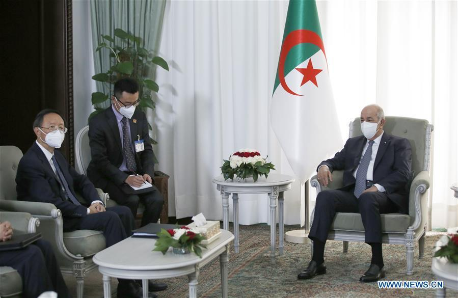 China voices readiness to deepen cooperation with Algeria to raise comprehensive strategic partnership to new level