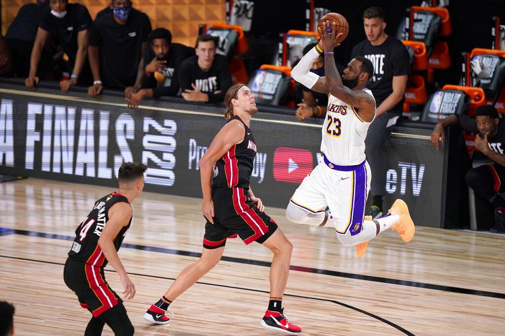 LA Lakers crush Miami Heat to win 17th NBA title