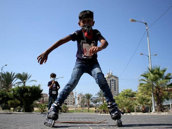 Palestine records 395 new COVID-19 cases, 55,951 in total