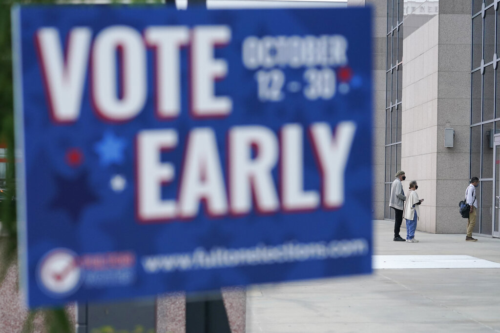 Ten million Americans have already voted in election: tracker