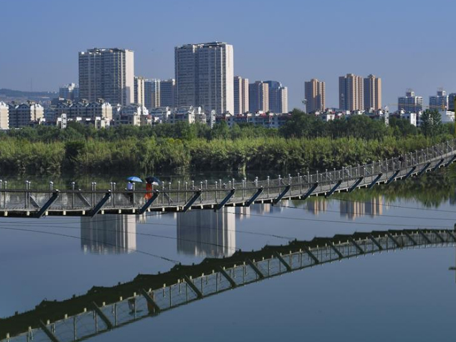 China's Yellow River tributary sees improved water quality