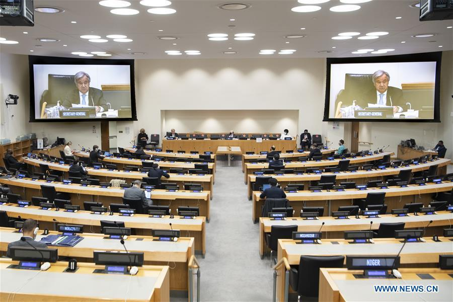UN chief says 2.99 bln USD needed in 2021 to fully implement entrusted mandates