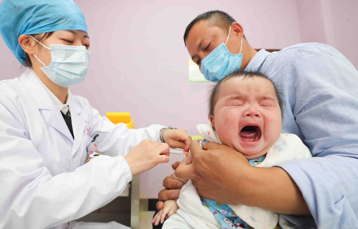 Flu vaccine suggested but demand high