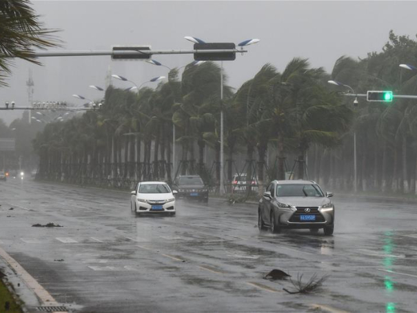 Rail and air traffic disrupted as south China braces for typhoon