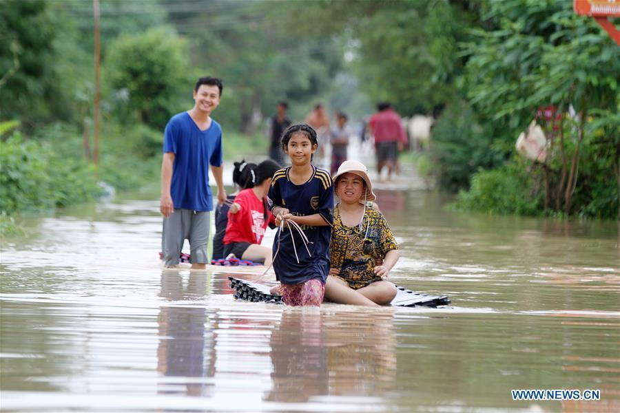 13 killed, over 12,000 evacuated in Cambodia due to flash floods: spokesman