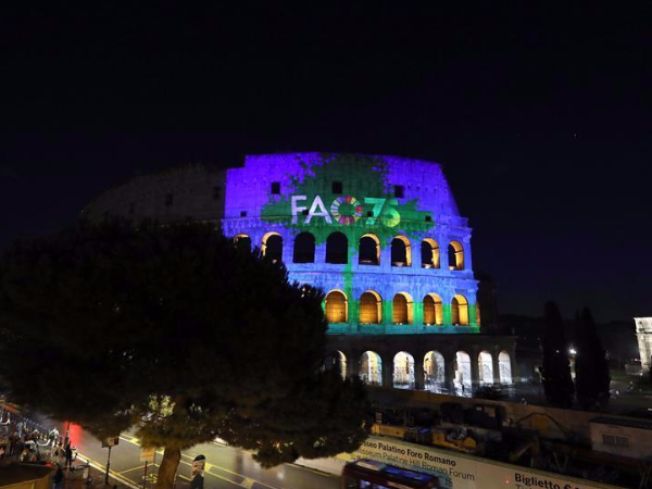 Italy marks World Food Day, anniversary of FAO