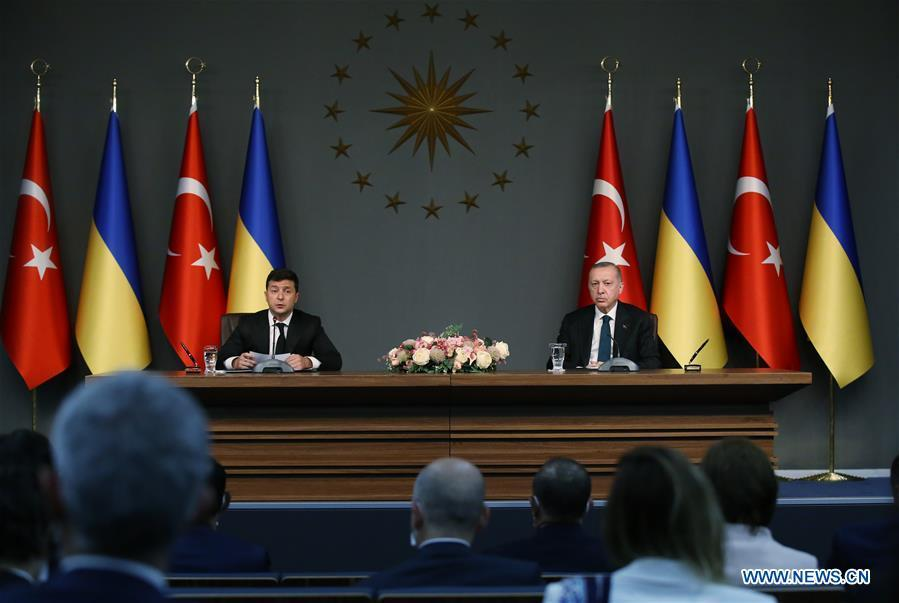 Turkey, Ukraine vow to boost cooperation amid COVID-19 pandemic