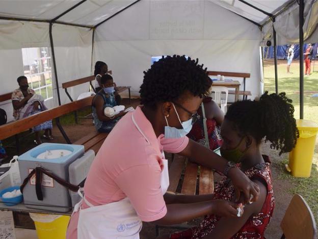 Uganda starts routine immunization services disrupted by COVID-19 pandemic