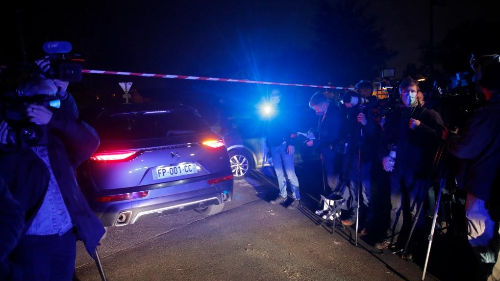 """Macron condemns """"Islamic terrorist attack"""" in Paris suburb"""